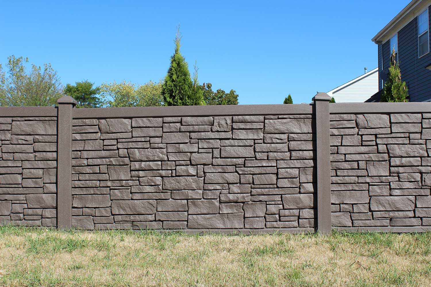 Residential Composite Fences