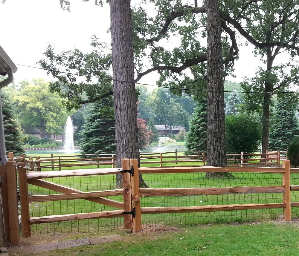 Post Amp Rail Fences
