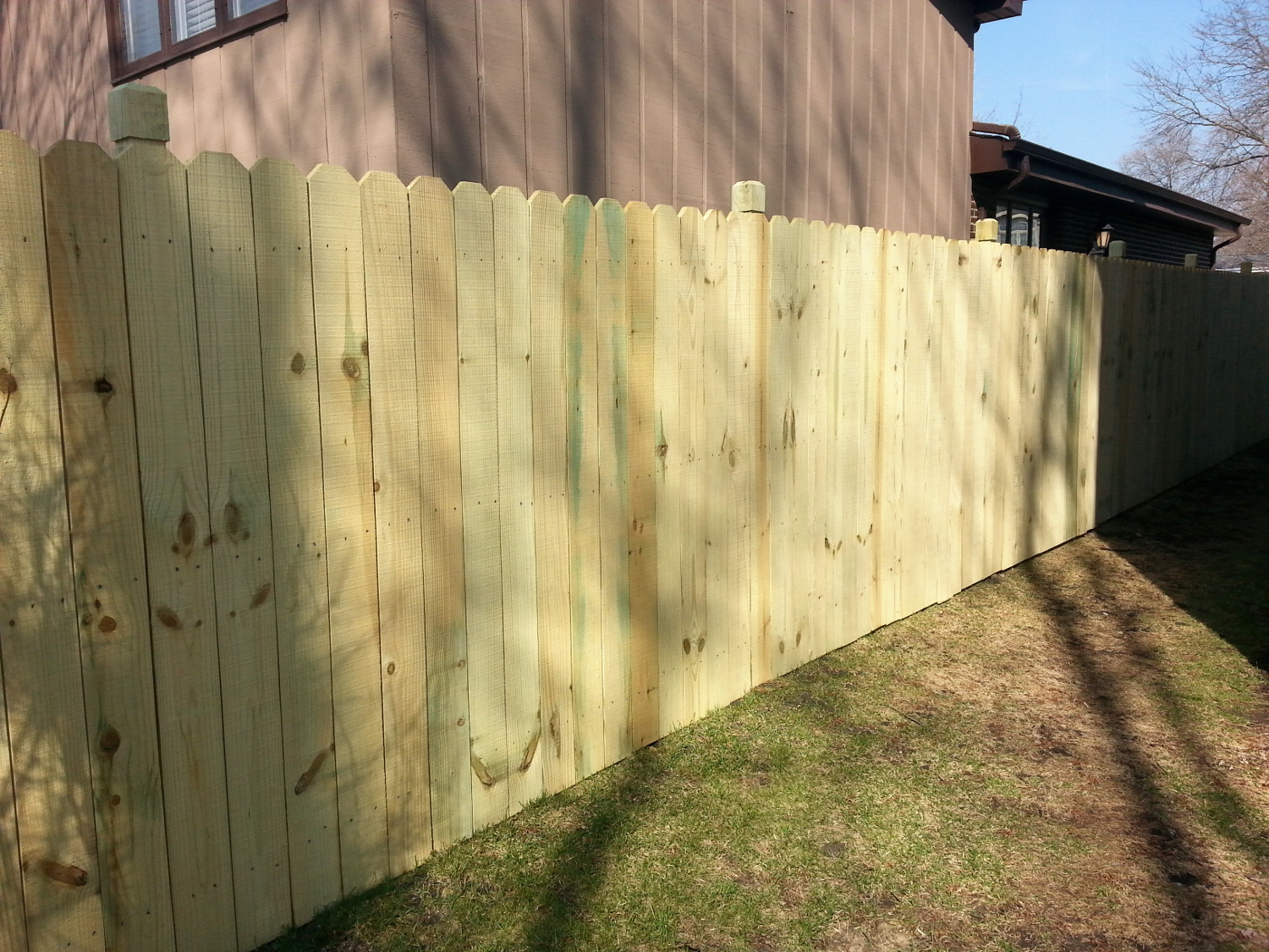 Green Treated Fences