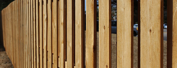 Commercial Wood Fences in Chicago | Peerless Fence